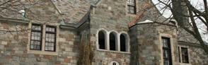 Gommage de façade en pierre